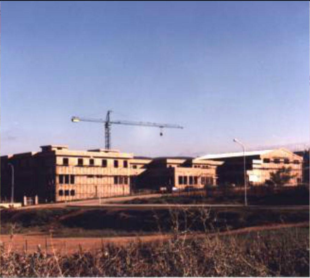 Scuola Gritti costruzione via Manzoni 1989-90